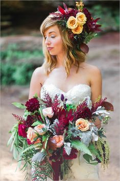 #fall #weddingflowers #bouquet @weddingchicks