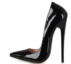 Hot Women Stiletto Super High Heel 16Cm Patent Leather Pumps Party Slip On Shoes http://feedproxy.google.com/fashionshoes11