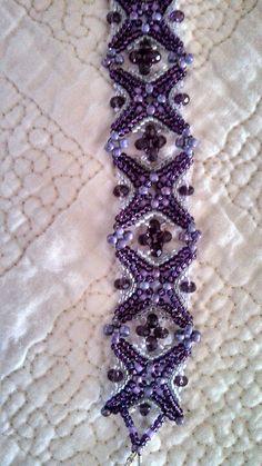 Ruth Malek's Variation of Jill Wiseman's Piazza Perline Bracelet