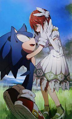 Sonic The Hedgehog & Elise