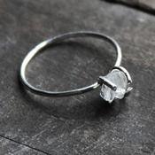 Image of Rock Quartz Crystal Ring - Urban Aviary