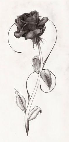 small rose design   black rose tattoos designs black rose tattoo men black rose tattoo ...