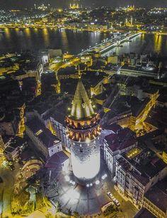 İyi Geceler Güzel İstanbul <3 Foto Zihni Güler