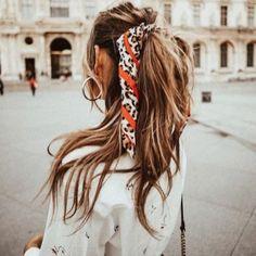 #Acconciature chic con #foulard e innovativi #fermagli! #hairstyle #capelli #beauty #hairtrend #girl #girlystuff #girlylook