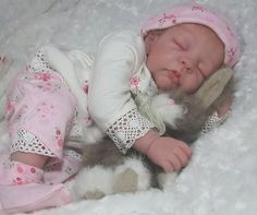 Realistic!! Solid Platinum Silicone Baby Doll by Jennifer Sussmann- Price