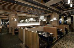 Grizform Design Architects - Washington DC :: restaurant / Woodward Table