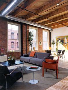 Riverplace Lofts Detroit Loft Interior Design