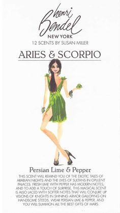 Henri Bendel 12 Scents by Susan Miller 'Aries & Scorpio'
