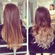 Long hair ideas for styling, dye, and cut.