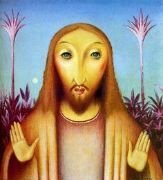 Kristus (Žlutý Kristus) 1908-1918. Theatre Costumes, Roman Catholic, Animation Film, Filmmaking, Mona Lisa, Disney Characters, Fictional Characters, Illustration, Artist