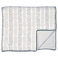 Traumhaft schön ist diese Tagesdecke des dänischen Trendlabels Greengate. Die große Decke ziert nicht nur wunderbar Dein Bett und lässt in Deinem Schlafzimmer alles schön ordentlich aussehen, sondern sie lässt sich auch als tolle Krabbeldecke für die Kleinen einsetzen. Praktisch: In der Waschmaschine waschbar. Die Decke findest Du bei uns in verschiedenen Farben und den typischen Greengate Mustern. #presents #geschenke #home #living #design #geschenkidee #greengate