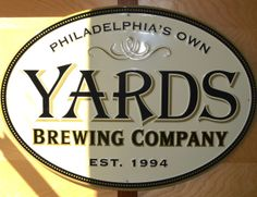 Yards Brewing Company #Philadelphia #MyHomeTownGuide #Beer