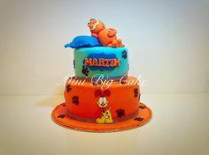 Garfield cake - Cake by Minibigcake Birthday Fun, Birthday Cakes, Birthday Ideas, Birthday Parties, Garfield Cake, Garfield Birthday, Decors Pate A Sucre, Cat Cakes, Walt Disney Pixar