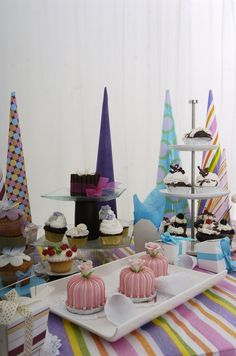 mesa de dulces para fiesta infantil