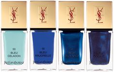 YSL Blue Nails Liqueur.