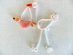 1000+ images about Quilling ideas on Pinterest Quilling, Baby cards and Baby carriage