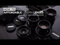 Converting still lenses to cinema lenses