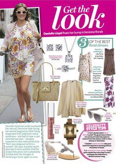 PRINT - Practical Parenting & Pregnancy July 2011: Celeb pregnancy fashion – Danielle Lloyd