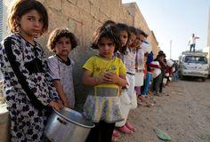 Syrian Arab Refugee Children