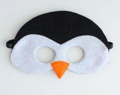 Penguin Mask CHILD by oppositeoffar on Etsy, $14.00