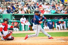 Photographing the Red-Sox, my favorite team, was a dream come true. Sure it may have been on Spring Training, but I was so excited to photograph them. Sports Action Photography, Josh Donaldson, Spring Training, Baseball Field, Nfl, Spring Training Schedule, Baseball Park