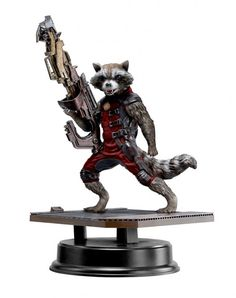 Guardians of the Galaxy Rocket Raccoon 1/9 Action Hero Vignette Red Suit Ver. 18 cm