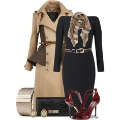 """""""All Burberry Style"""" by kginger on Polyvore"""