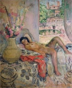♥ Henri Lebasque, Nude, 1923