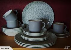 Springtime D633 Dinner Sets, Spring Time, Old Things, Porcelain, Pottery, Crown, Plates, Ceramics, Tableware