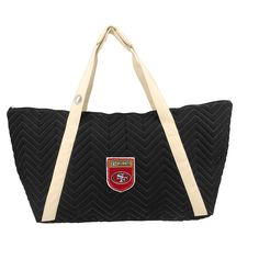 NFL San Francisco 49ers Chev-Stitch Weekender Tote