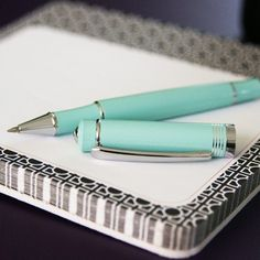 tiffany blue pen