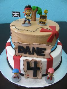 Jake and the never land pirates cake