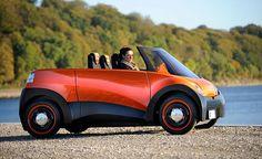 QBEAK electric car has a 500-mile range [Concept] | Ubergizmo