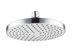 Posh Domaine 180 Round Overhead Shower Product Code - 9503539 is not only a practical and functional shower head, but also features contemporary design for the modern family bathroom space. Reece Bathroom, Zen Bathroom, Diy Bathroom Vanity, Steam Showers Bathroom, Bathroom Storage, Family Bathroom, Design Bathroom, Wallpaper Bathroom Cabinets, Outdoor Tub