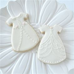 Christening Gown Cookies