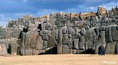 Lying on the northern outskirts of the city of Cusco in Peru, lies the walled complex of Saksaywaman (Sacsayhuaman). The site is famed for its remarkable large dry stone walls with boulders carefully cut to fit together tightly without mortar.  The stones used in the construction of the terraces at Saksaywaman, which weigh up to 200 tonnes, are among the largest used in any building in prehispanic.America.