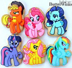 My Little Ponies | Cookie Connection        www.facebook.com/ButterWinks  http://butterwinks.tumblr.com/  https://twitter.com/ButterWinks