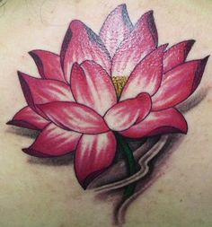 """Cover up option 1: Red Lotus. What each color lotus means incase you just think """"OH! Pretty!!"""" 1)White Lotus (Skt. pundarika; Tib. pad ma dkar po): This represents the state of spiritual perfection and total mental purity (bodhi). It is associated with the White Tara and proclaims her perfect nature, a quality which is reinforced by the color of her body.    2). Red Lotus (Skt. kamala; Tib: pad ma chu skyes): This signifies the original nature and purity of the heart (hrdya). It is the lotus…"""