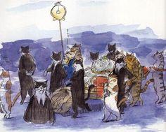 The Royal Cats, The Cat Returns concept art