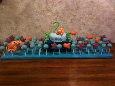 cake balls... fish shape ones too