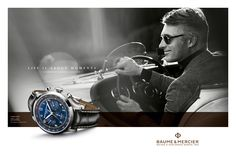 "Baume & Mercier - ""Life is about moments"" campaign 