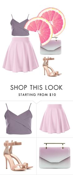"""""""Untitled #208"""" by anjola112 on Polyvore featuring Boohoo, Gianvito Rossi and M2Malletier"""