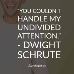 25 of the Funniest Dwight Schrute Quotes To Make You Smile Today Dwight Schrute Quotes, The Office Dwight Schrute, Michael Scott, Funny Inspirational Quotes, Funny Quotes, Quotes Quotes, Your Smile, Make You Smile, Quotes To Live By