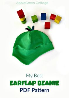 Make a perfect beanie hat that will protect the ears of your kid! Would you like to add a pop of color to your kids' wardrobe and let them stay warm outdoors? This 8-sized earflap beanie pattern is perfect for that - check it out! #diyaccessories #beanie #diybeanie #beaniepattern