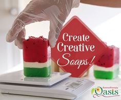 Learn to craft soothing #aromatic soaps with #Aromatherapy Oasis.