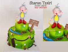boots (dora) cake - cake by sharon tzairi - cakes-mania  עוגת בוטס של דורה מאת שרון צעירי - שיגעון העוגות