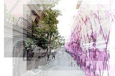 Alicia Serna _PFC_   Arquitectura efímera. Instalaciones urbanas. Recorrido sensorial en Malasaña, Madrid.  Architecture Design Landart City art
