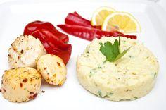 Baccala - Christmas Eve cod mash served with scallops