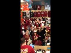 Florida State Seminole National Champions Celebration Shopping at Sports...