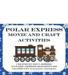 This free download contains a Venn Diagram to compare the Polar Express movie to the Venn, a parent donation letter,  a candy Polar Express Train c...